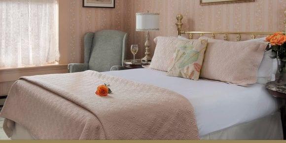 Hana's Hideaway bed with nightstand