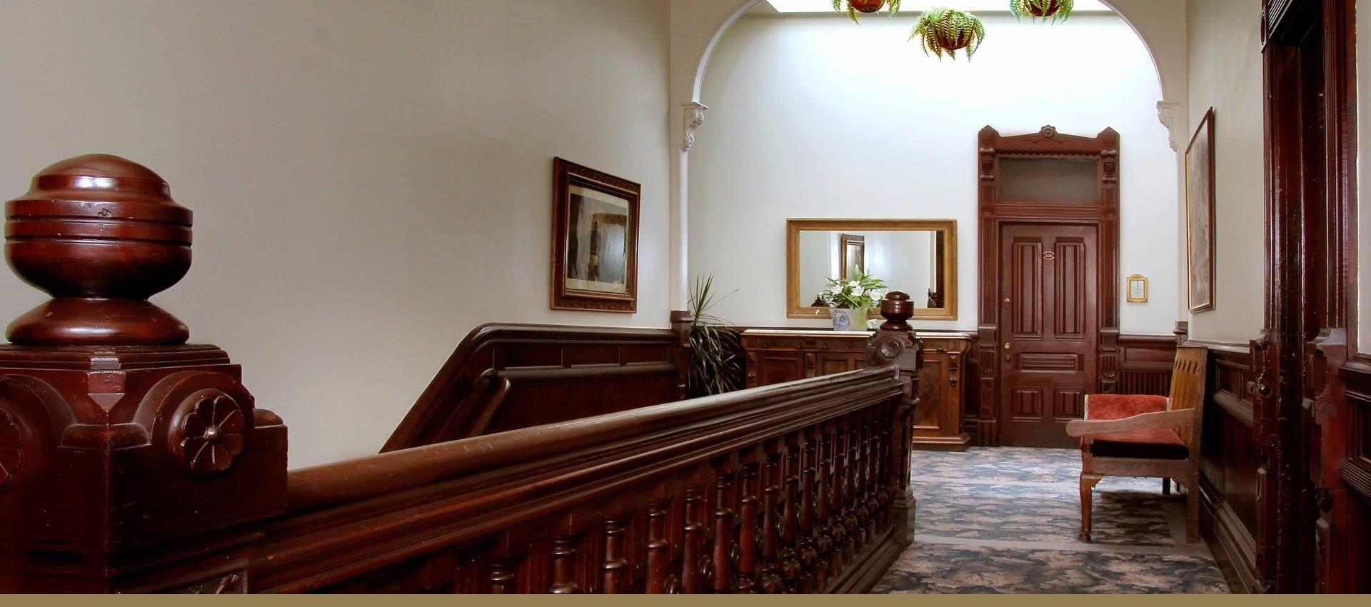 Victorian Village Inn upstairs foyer