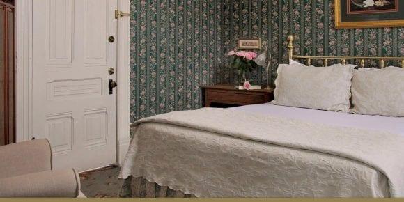 Sylvia's Room 205 bed