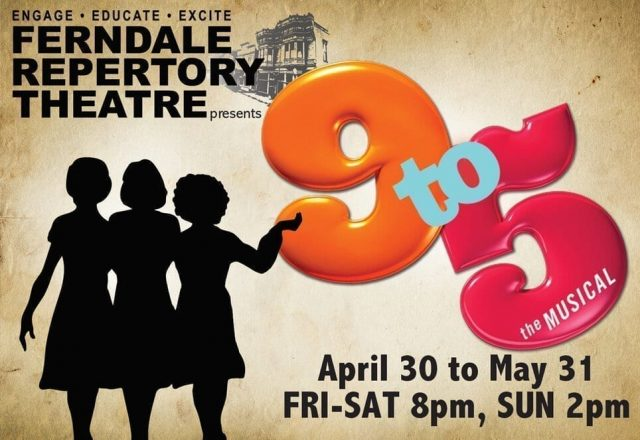 9 to 5: the Musical at the Frendale Rep