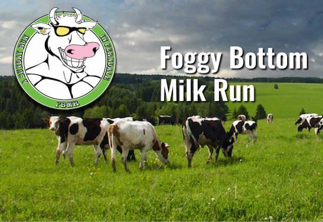 Foggy Bottom Milk Run Sunday run in Ferndale