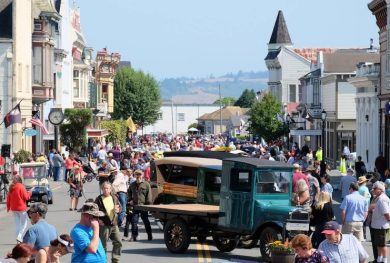 Main Street and Concours