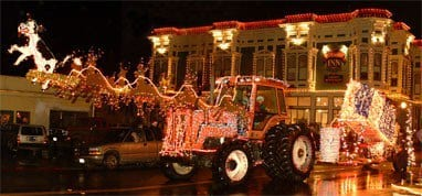 Lighted Tractor Parade and Victorian Inn